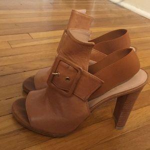 Stuart Weitzman leather heels